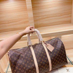 NEW Pochette💘 KEEPALL LouisVuitton BANDOULIERE BAG 55cm